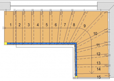 Technische-Skizze-Treppe