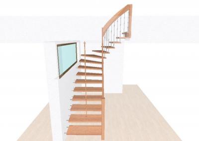 Rendering-Planung-Treppe-Komplett-Ansicht