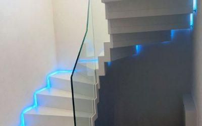 Unsere Highlight-Treppen: Faltwerktreppe Schwedelbach