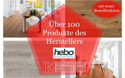 Über 100 Produkte von hebo